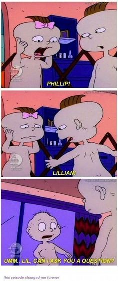 When Tommy had some anatomical questions for Lil: | 33 Jokes That Went Way Over Your Head As A Kid