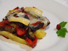 Asa o haz las parrilla unas hortalizas y pon encima un poco de queso de cabra. ¡Qué rico!