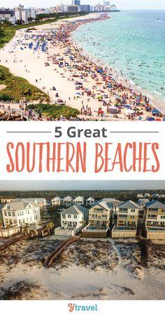 USA Beaches. 5 beaut