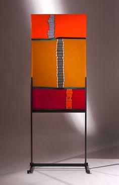 LINO TAGLIAPIETRA | GLASS ART PANELS by Lino Tagliapietra at Schantz Galleries
