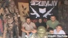 Video Shows Militants Threatening Seven French Hostages