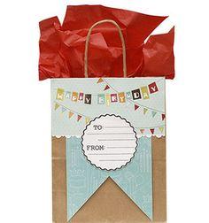 Birthday Gift Bag: fiskars fuse: scrapbooking & paper crafts: Shop   Joann.com