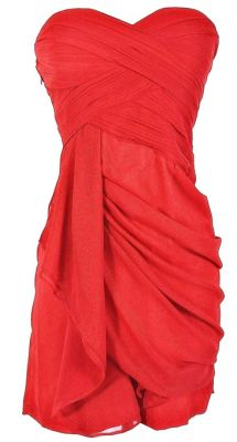 red party dress<3