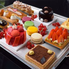 7 Pastry Chefs You Should Be Following on Instagram - Fauchon from InStyle.com