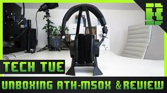 @AudioTechnica #AudioTechnical #ATHM50x #Review #GamingHardware #TechTues  This is part of my Beardedbob Tech Tuesday Videos where each Tuesday I release videos Reviews Unboxing and Giving my first impressions on how I find them. This week is on the Audio Technical ATH-M50x Studio Monitor Headphones 2017. I wanted to see if these are the best studio monitor headphones for the price and if they are also good for gaming. I unbox the AudioTechnia ATHM50x then talk through some pros and cons. I…