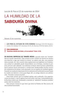 Leccion la humildad de la sabiduría divina by Escuela Sabatica via slideshare #LESAdv Descargue aqui: http://gramadal.wordpress.com/