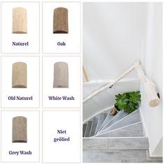 Boomstam trapleuning in 5 kleuren verkrijgbaar, Robuuste natuurlijke trapleuning een mooie aankleding voor je trap. Boomstam trapleuning in 5 kleuren. ook trapbeugels verkrijgbaar webshop www.decoratietakken.nl