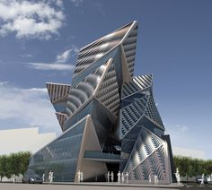 Benetton Group Headquarters in Tehran, Iran / AquiliAlberg ~ DesignDaily Network