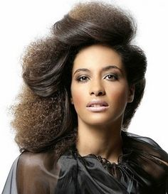 How to Flat Iron African American Hair