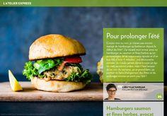 Pour prolonger l'été - La Presse+ Hamburgers, C'est Bon, Mayonnaise, Bbq, Cooking, Ethnic Recipes, Food, Cooking Food, Barbecue