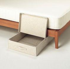 Cloth Underbed Storage Box via Muji