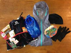 Trail running gear