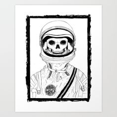 Nope+Art+Print+by+CorpseTits+-+$20.00