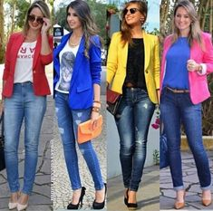 outfit with blazer Blazer Outfits Casual, Business Casual Outfits, Fall Outfits, Dress Outfits, Work Casual, Casual Chic, Casual Looks, Look Fashion, Fashion Outfits