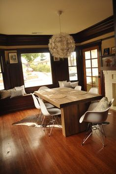 Eclectic Dining Room in Craftsman - eclectic - dining room - san diego - missragga