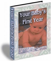 If you are like most expectant parents, you can't wait for your new bundle of joy to arrive. But how do you know what to do once your baby has arrived? Relax! The comprehensive book, Your Baby's First Year, is hear to guide you. Packed full of information and advice for new or experienced parents, Your Baby's First Year is the instruction manual that Mother Nature should have included with your new baby. $1