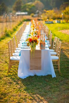gourmet dinner party in a field   license to still for v & co