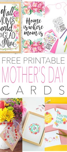 That Special Day for Mom is just a few days away so we thought that it would be fun to share a whole bunch of pretty Free Printable Mother's Day Cards for you to give your Mom or that Special Lady in your life. So sit back…enjoy a cup of something yummy and pick out …