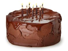 Birthday cake of the month for February from #FNMag: Chocolate Blackout Cake