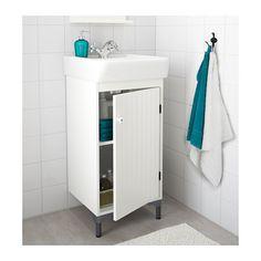 SILVERÅN / HAMNVIKEN Armario lavabo+1prta  - IKEA