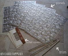 Decorative Tin Backsplash Tiles Unique Backsplash Help Long  Pic Heavy  Tin Ceilings Ceiling Tiles Inspiration