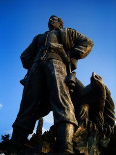 Afxentiou statue (Άγαλμα Γρηγόρη Αυξεντίου) by Ειρήνη Μαυρή on 500px Cyprus, Architecture, Arquitetura, Architecture Design