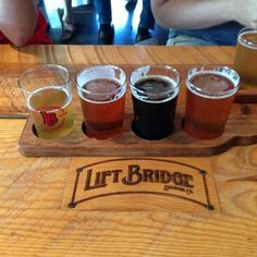 Lift Bridge Brewing Company in Stillwater, MN