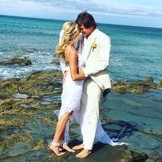 Happy first wedding anniversary to these Lorne lovers!! Still one of my favourite ceremonies so far with their two beloved pooches involved! #weddinganniversary #bride #groom #lorne #lovers #mrandmrs #ido #beachwedding #lornewedding #celebrant #greatoceanroad by lana_ryder_celebrant http://ift.tt/1IIGiLS