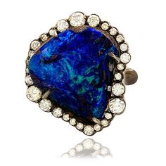 Oceanic Opal nugget ring by Kimberly McDonald #opalsaustralia