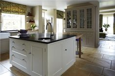 An inspirational image from Farrow and Ball, Off White - 3, Savage Ground - 213 & Slipper Satin - 2004