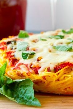 On gluten-free spaghetti:   17 Easy Ways To Put Pizza On Everything