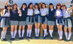 School Girl Japan, School Girl Outfit, School Uniform Girls, Girls Uniforms, Girl Outfits, Cute Japanese Girl, Japanese School, Girls Boarding Schools, Carnival Costumes