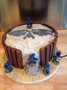 Warhammer Oreo cake