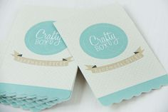Crafty Box: tarjetas de visita corporativas