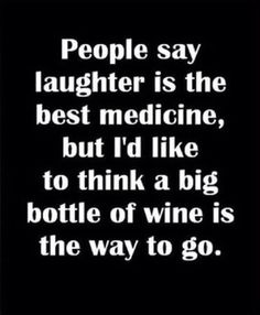 The key to happiness... Wine!