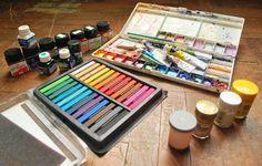 My painting tools by Jm-dot.deviantart.com on @DeviantArt