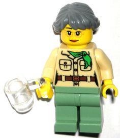 LEGO MISAKO MINIFIG AUTHENTIC NINJAGO Lloyd's Mom Temple of Airjitzu 70751 NEW #LEGO