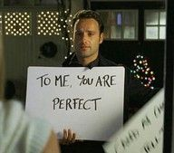 Favorite Christmas movie moment.. Love Actually