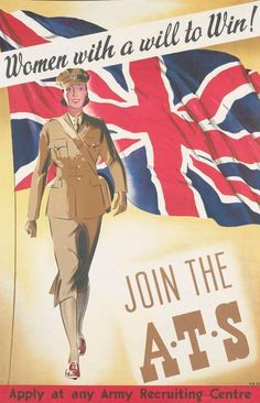 WW2 poster. Some information about the A.T.S here...  http://www.atsremembered.org.uk/