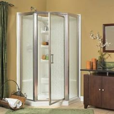 Lowes corner shower unit Stuff I want to make Pinterest