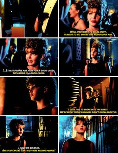 """You want to steal stuff, it helps to go where the rich people are"" - Selina Kyle #Gotham"