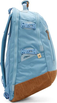 Visvim Light Blue 20L Ballistic Backpack