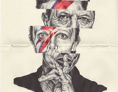 Drawing Human Figure bic biro sketchbook drawing of David Bowie - Biro Art, Biro Drawing, Kunst Inspo, Art Inspo, David Bowie, Biro Portrait, Art Sketches, Art Drawings, Kunst Portfolio