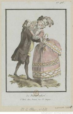 Titre:Le Baiser refusé. : [estampe] / [Louis-Marin Bonnet] Auteur:Bonnet, Louis-Marin (1743-1793). Graveur