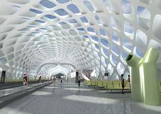Shenzhen Bao'an International Airport - New Terminal Unique Architecture, Futuristic Architecture, Airport Design, Conceptual Design, Higher Design, Environmental Design, International Airport, Places To See, Kisho Kurokawa