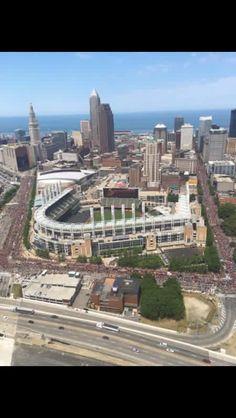 Cleveland CAVS Championship Parade 6-22-16
