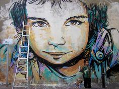 STREET ART Alice Pasquini - Vitry sur seine (FR)
