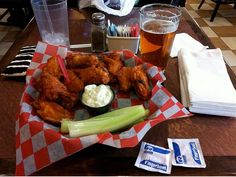 """Buffalo Bills: Wings : Buffalo has always been credited for inventing wings (hence the name), and Anchor Bar has been serving them to Bills fans — along with legions of hungry locals and visitors — since the 1960s. One of the most popular snacks for football fans from coast to coast, Buffalo wings are served at """"The Ralph"""" (Ralph Wilson Stadium), but mainly in the suites and club sections; fans in the know often bring wings to tailgate parties and get them outside of th..."""