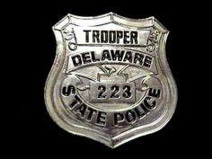 Delaware State Police Badge