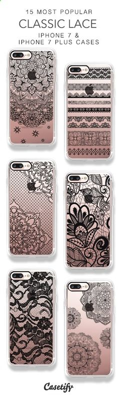 Phone Cases - 25 Most Popular Classic Lace iPhone 7 Cases & iPhone 7 Plus Cases here > www.casetify.com/...